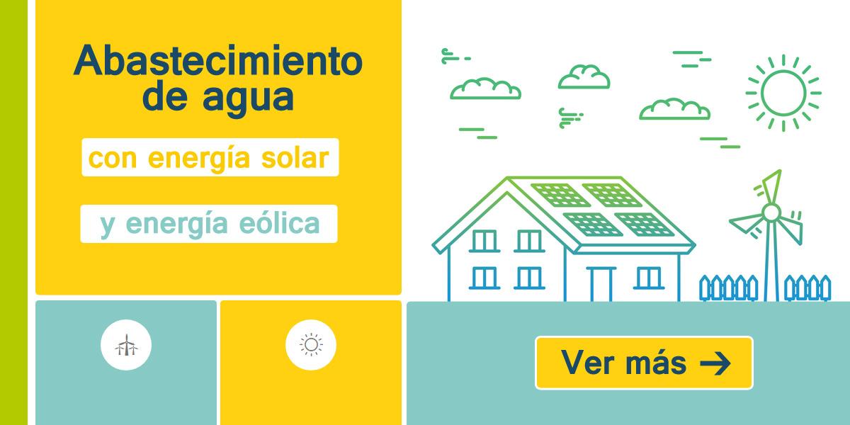 a8e50d8d209 Pozos de agua con energía solar y eólica. Bombeo solar y bombeo eólico.