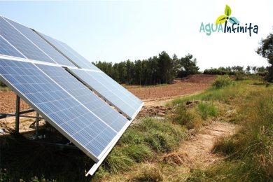 Riego Solar Directo en Finca de Nogal. SINARCAS (Valencia)